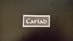 Cariad word stencils for etching on glass   craft / hobby  Welsh  Happy Christmas  Wales  love Valentines